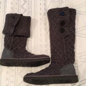 Lattice Cardy UGG boots